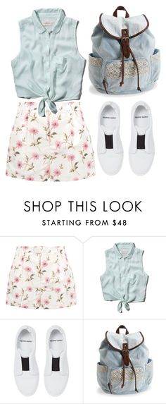"""""""She's A Mystery To Me"""" by designbecky ❤ liked on Polyvore featuring RED Valentino, Abercrombie & Fitch, Pierre Hardy and Aéropostale"""