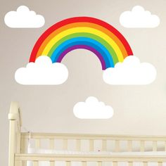 rainbow decals for walls - Google Search
