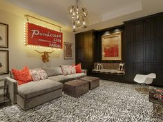 What an awesome room to get cozy on the couch! Briggs Freeman Sotheby's International Realty. 75205 #Dallas