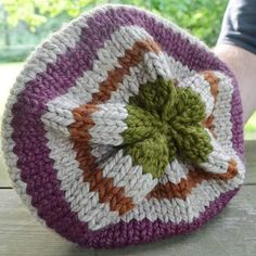 Sold this hat yesterdaywhich made me happy. It was inspired by the colors I see every year at one of my very favorite places The Great Pumpkin Patch in Arthur Illinois.  I've been making things lately based on nature and travel photos I've taken and it's so fun!  All my hats are one of a kind so please feel free to browse through my  feed and comment if you find one you are interested in.