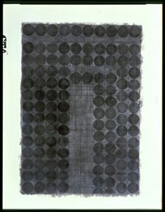(Untitled) by Eva Hesse Ink and charcoal on paper