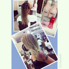 Cuidados com cabelo loiro e primordial ❤️loiro perfeito #aquinosalao #corquetransforma #lorealprofissionel