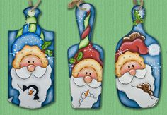 B2014  Sunshine & Snowflakes-painting, patterns,ornaments, spring, book,Christmas, wood, decorations,