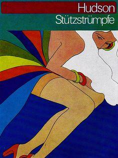 1970s Advertising - Poster - Hudson 1 (Germany) by ChowKaiDeng, via Flickr