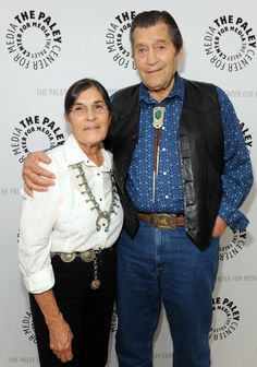 Actor Clint Walker and his wife attend The Retro TV Action-Adventure