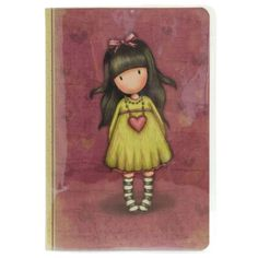Browse all our Gorjuss Girls by Santoro London. Including dolls, bags, cards, arts & crafts & more. 3d Cards, Pop Up Cards, Little Doll, Little Girls, Illustrations, Illustration Art, Decoupage, Santoro London, Swing Card