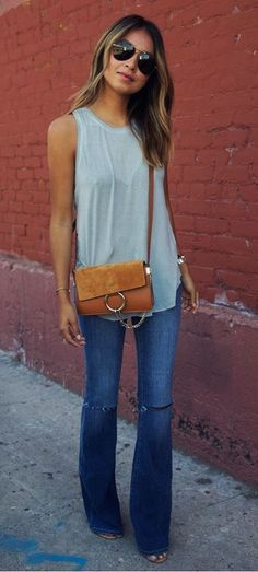 flared jeans. Never go out of my style!                                                                                                                                                                                 More #ad
