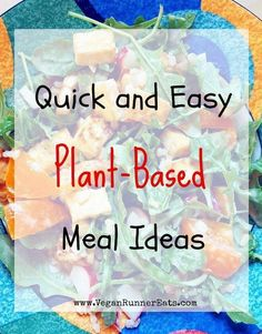 Quick and easy plant-based vegan meal ideas - perfect for busy nights, tastier a. Quick and easy p Plant Based Meal Planning, Plant Based Eating, Plant Based Diet, Plant Based Recipes, Vegan Recipes Easy, Whole Food Recipes, Vegan Meals, Dinner Recipes, Vegetarian Recipes