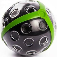 Panono 108 MP Throwable Panoramic Ball Camera $499. Throw it up in the air and once it hits it's peak, it take a photo with all it's cameras simultaneously. This would be so cool for weddings, dances, parties, etc!