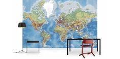 World Maps - Wall Mural & Photo Wallpaper