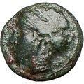 HIMERA Sicily 420BC Ancient Genuine Greek Coin Nymph & LAUREL WREATH i25228