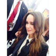 Ellen Page.  smart,strong,badass.