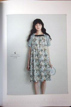 "Japanese dress pattern book ""Stylish Dress Book - Simple smocks, dresses and tops"" by Yoshiko Tsukiori - reviewed by Japanese Sewing Books."