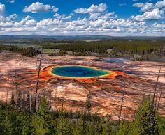 Поэтический блог Екатерины Комаровой: Извержение вулкана Йеллоустонского