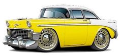 56 Chevy Cartoon...