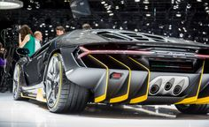 View 2017 Lamborghini Centenario LP770-4: The 759-hp Birthday Present Photos from Car and Driver.