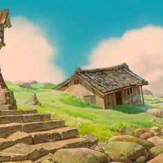 Cenários de A Viagem de Chihiro, do estúdio Ghibli