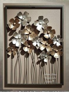 "Outstanding ""metal tree art diy"" detail is offered on our internet site. Take a look and you wont be sorry you did. Metal Tree Wall Art, Metal Art, Aluminum Can Crafts, Foil Art, Colorful Wall Art, Metal Flowers, Art Flowers, Hanging Art, Metal Walls"
