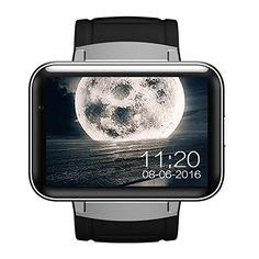 iSTYLE&reg:Bluetooth Smart Fitness Watch DM98 3G Android 4.4 OS WIFI GPS Health Wrist Bracelet Heart Rate Sleep Monitor Smart Wearable Devices (Black). * Support Nano SIM card and Wifi, you don't always need your phone, make calls with its built-in speaker. You can also check voice messages and hear the alarms you set. * Touch Screen and Multimedia Social function not only for fitness, suburban travel, Camping, exploration, Mountain climbing but also for more wonderful life. * Retina…