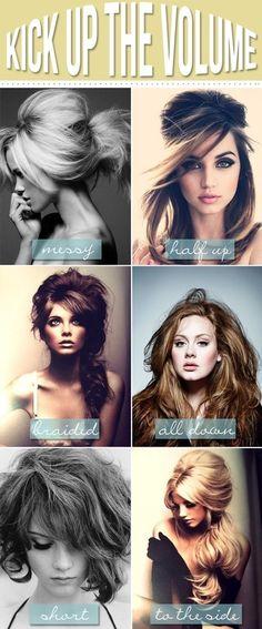 Quelle coupe choisir avec des cheveux volumineux, se coiffer quand on a les cheveux volumineux longs, courts, mi longs qu'ils soient frisés, bouclés, afro.