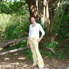 Sis Boom Judy's Fancy Pants - Womens Bell Pants Sewing Pattern, PDF E-Book