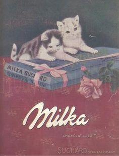 Chocolat Milka : Au goûter avec de la bonne baguette bien fraîche .
