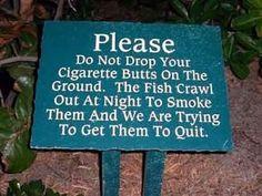 quit smoking hahahahahaha
