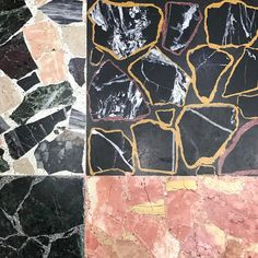 "151 Likes, 2 Comments - Sean Meilak (@seanmeilak) on Instagram: ""#barbershop #floor #marble #terrazzo #marbletiles #combinations"""