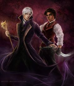 Will and Jem. Jem looks so badass in this picture! I love it! Parabatai by smitth.deviantart.com on @deviantART