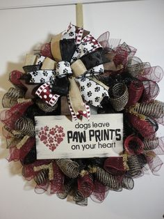 Paw Prints on your heart for sure!