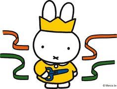 Miffy is 60 this year ! Dutch Rabbit, Pocket Edition, Miffy, Kid Character, Line Friends, News Games, Birthday Party Themes, Hello Kitty, Doodles