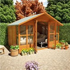 garden shed summer house - Google Search