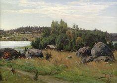 Churberg, Fanny Maria (1845-1892) Chur, Helene Schjerfbeck, Painters, Artists, Fine Art, Mountains, Nature, Travel, Finland