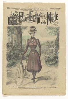 """La Mode du Petit Journal: supplement, Nr. 9, 12e Année:  Dimanche 4 Mars 1900: 1. Canotier """"Le Touriste""""....., Anonymous, 1905"""