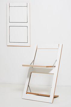chaise pliable Fläpps par Ambivalenz                                                                                                                                                                                 Plus