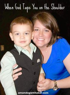 Amanda G. Whitaker: When God Taps You on the Shoulder