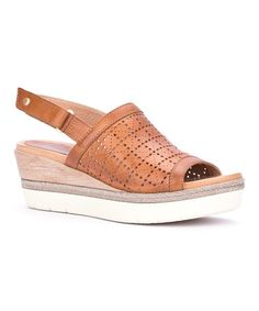 Love this Brandy Madeira Leather Sandal on #zulily! #zulilyfinds