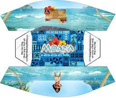 Moana: Free Printable Boxes. Moana Theme Birthday, Girl Birthday Themes, Kids Party Themes, Birthday Party Decorations, Party Ideas, Moana Party, Oh My Fiesta, Fiesta Party, Printable Box
