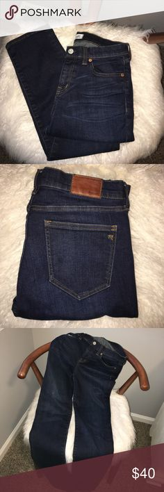 Madewell Alley Straight Jeans Gently Used - great brand of jeans ✨ Madewell Jeans Straight Leg