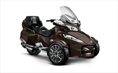 """Recently, the very popular three-wheeled motorcycles. I can tell you that it seems to me a lot more stable than the two-wheelers. This time we will present you a new 2013 model. it is a model of """"Spyder RT Limited"""" which produces """"BRP Can Am"""" companies. See below full features and details of the motorcycle and enjo"""