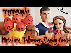 Tutoriel : pomme d'amour d'Halloween miniature pour nos dolls 🍎🎃🍎 Doll Tutorial, Halloween 2018, Lps, Pet Shop, Ronald Mcdonald, Barbie, Miniatures, Youtube, Movie Posters