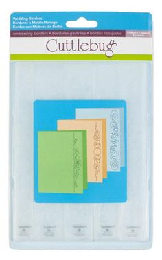 "Cuttlebug® 7"" Embossing Borders, Wedding  On Sale at Cricut for $1.87. Reg $7.49"