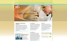 A simple, brochure style web site built for Burlington Chemical. The goal was to rebrand the company as green and environmentally sensitive. Circa 2006.