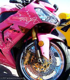 Pink Crotch Rocket <3