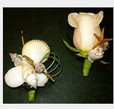 Shell boutonnieres