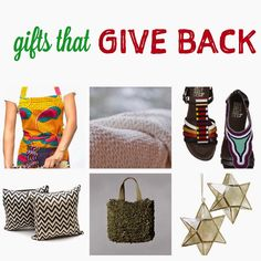 Rage Against the Minivan: Gifts That Give Back 2014