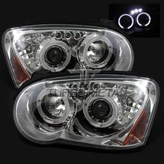 HID Halos 05 Subaru WRX HeadLights