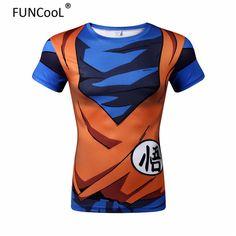 Dragonball Sun Turtle fairy Anime peripheral fitness short sleeve t-shirts unisex clothing