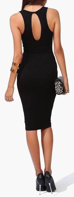 Sexy Little Black Dress ♡ the back!
