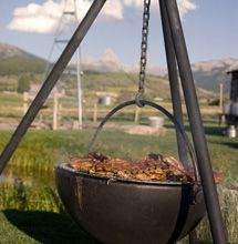 Cowboys & Indians Magazine Featured Cowboy Cauldron Fire Pits